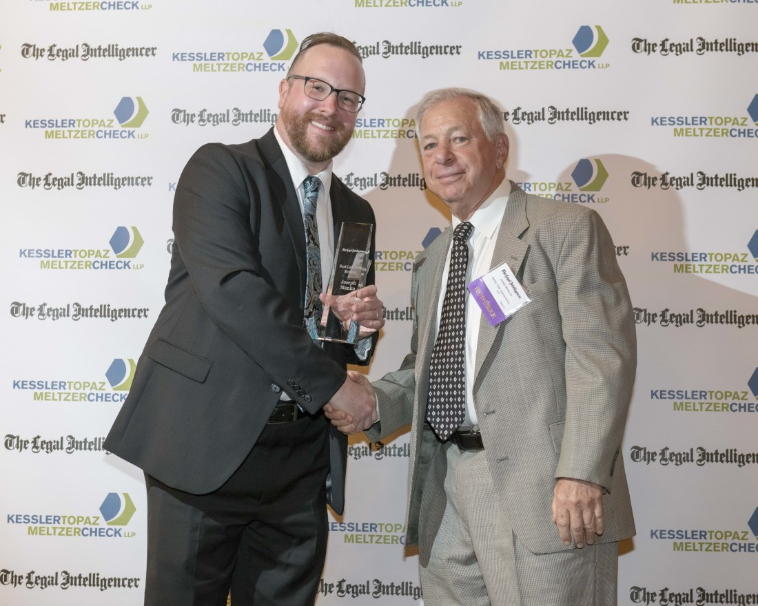 Manko Receives the Best Law Firm Mentor Award
