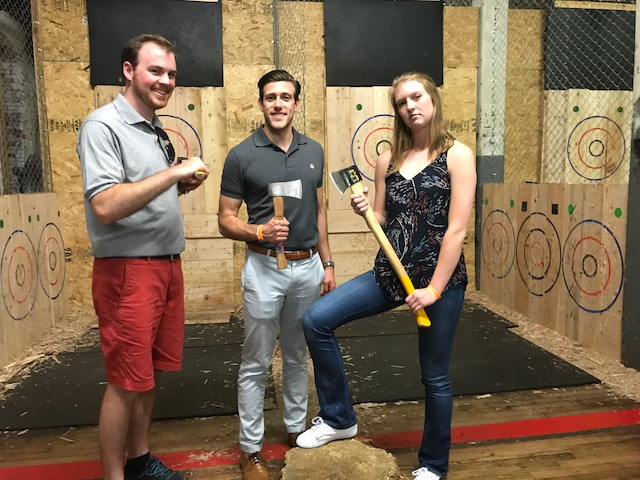 Summers 2017 Axe Throwing Event