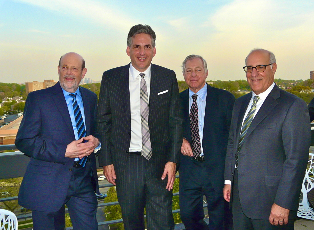 MGKF Founders Katcher, Fox, Manko and Gold Celebrate 25 years